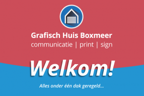 Grafisch Huis Boxmeer biedt grote variatie aan grafisch producten en diensten.