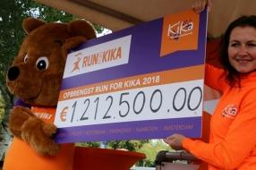 550 hardlopers rennen in Wijchen 80.000 euro bij elkaar voor KiKa
