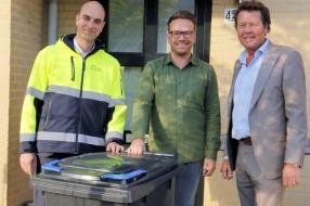 Wijchen heeft primeur: 200 circulaire papiercontainers