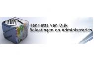 Henriette v. Dijk Belasting. en Administr. Logo