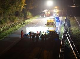 Twee gewonden bij ongeluk op A326